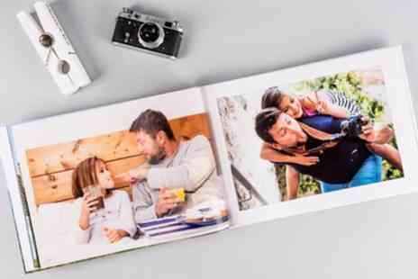 Colorland - Extra Large A3 Personalised Hardcover Photobooks with Up to 120 Pages - Save 73%
