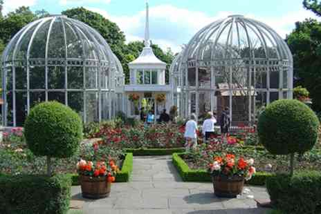 The Birmingham Botanical Gardens - Entry and Traditional or Champagne Afternoon Tea for Up to 6 - Save 27%