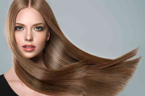 UK Hair & Beauty - Wash, cut, blow dry and hair colour treatment - Save 55%