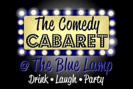 The Comedy Cabaret at The Blue Lamp - Saturday Night Comedy Show Ticket for Up to Four - Save 47%
