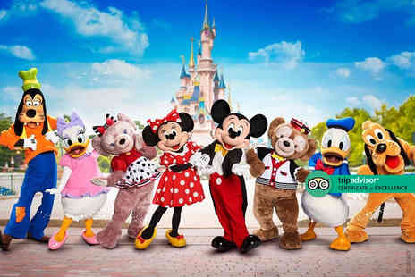 Book It Now Holidays - Two nights Disneyland Paris, France holiday with return flights - Save 0%