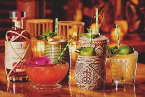 Tropix - Three or Six Cocktails with Option to Include Two or Four Small Plates for Two or Four - Save 52%