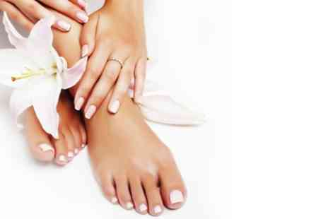 Berba Beauty - File and Gel Polish on Fingernails or Toenails or Both - Save 38%