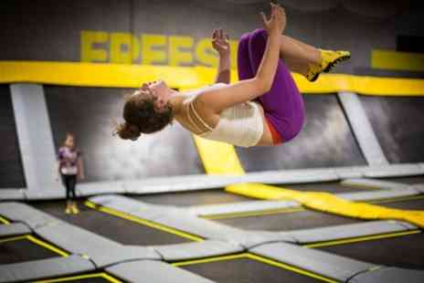 Freedome - Two Hour Jump Session with Socks for One or Two - Save 43%