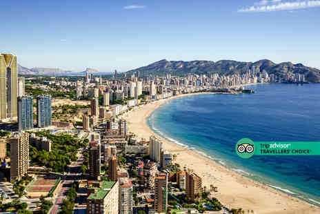 Super Escapes Travel - Four Star Two nights Benidorm, Spain holiday with return flights - Save 50%