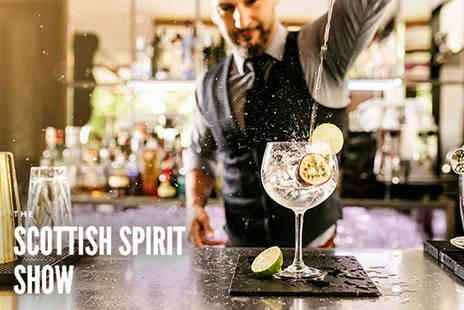 The Scottish Spirits Show - Get two tickets on Sat 3rd Oct 2020 from 12pm To 4pm or 5pm To 9pm - Save 75%