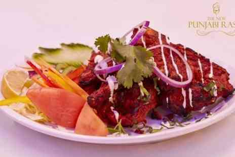 The New Punjabi Rasoi - Two Course Indian Meal for Up to Eight - Save 53%