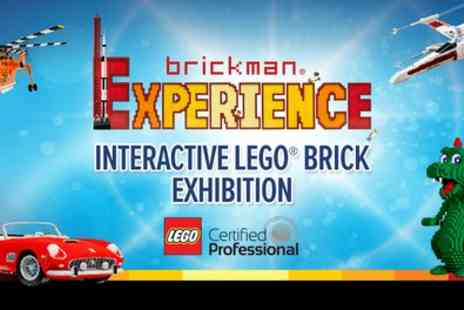The Brickman Experience - Interactive LEGO Brick Exhibition from 17th To 20th and 23rd To 27th March - Save 33%