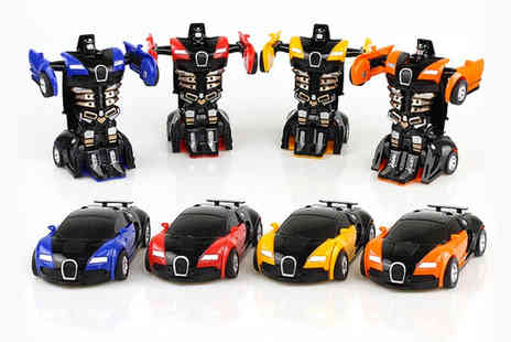Arther Gold - One two in one transforming robot car - Save 78%