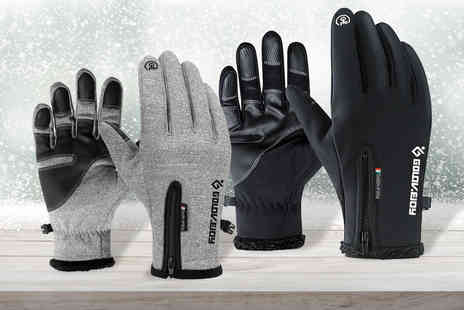 Domo Secret - Touch screen thermal gloves - Save 70%