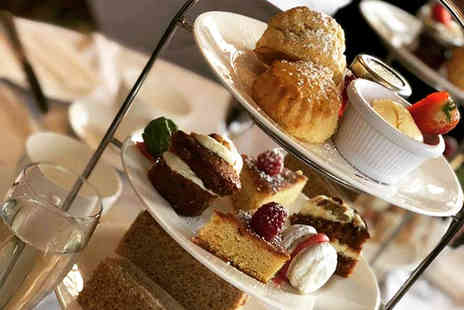 Shrigley Hall Hotel - Afternoon tea for two people with a glass of Prosecco each - Save 38%