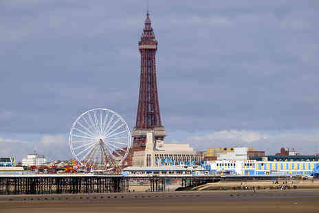 White Lodge Inn - One night Blackpool stay for two people, breakfast and late check out in a double room - Save 0%