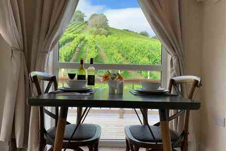 Old Walls Vineyard - Two nights lodge stay for up to four people including breakfast, bottle of wine, early check in and late check out - Save 0%