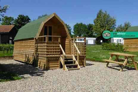 St. Helens Camping & Caravan Park - Two nights camping pod break for up to four people - Save 35%
