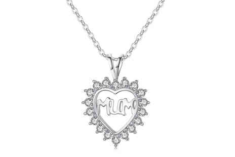 youri deal gift - Heart pendant with crystals - Save 0%
