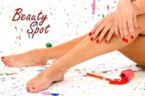Beauty Spot - Manicure and Pedicure - Save 60%