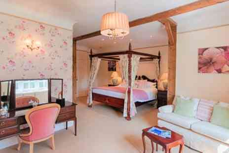 The Edgemoor Hotel - Deluxe or Superior Room for Two with Bubbly and Option for 2 Course Dinner and Cream Tea - Save 36%