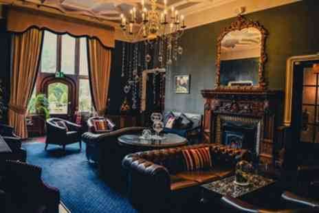 Ruthin Castle Hotel & Spa - Standard or Deluxe Room for 2 with Bubbly and Optional Tea, Dinner and Spa - Save 36%