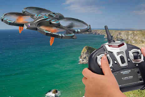 CJ Offers - Six axis quadcopter drone - Save 80%