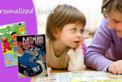 Star Stories - Make those first stories even more special with these personalised childrens books - Save 50%