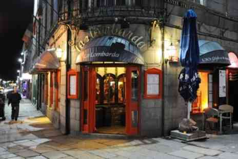 La Lombarda - Two or Three Course Meal for Two with Optional Small Glass of Wine - Save 57%