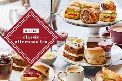 Cafe Rouge HQ - Afternoon Tea for Two - Save 8%