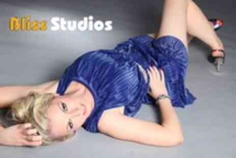 Bliss Studios - MAC makeover photoshoot for 1  including mini facial & 2 images on a CD - Save 97%