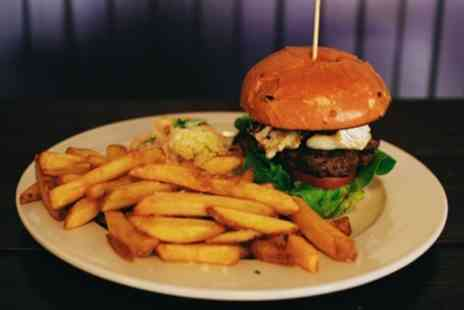 The Urban Fox - Burger Meal with Bottle of Beer for Two or Four - Save 44%