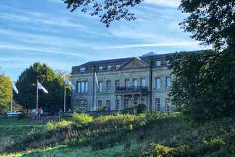 Shrigley Hall Hotel - Two Course Sunday Lunch and Half Bottle of Wine Each for Two or Four - Save 58%