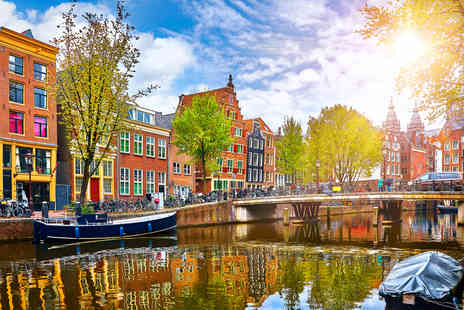Weekender Breaks - Two nights Amsterdam, Netherlands holiday with return flights - Save 56%