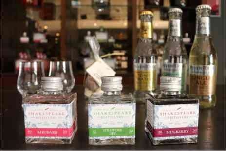 Shakespeare Distillery - Home Gin Tasting Kit with Online Tutorial for Two - Save 0%