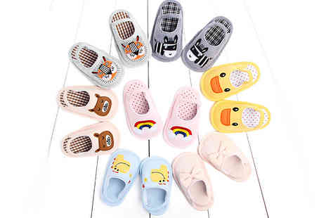 Bag a Bargain - Baby Anti Slip Shoes choose from 7 Designs and  3 Sizes - Save 67%