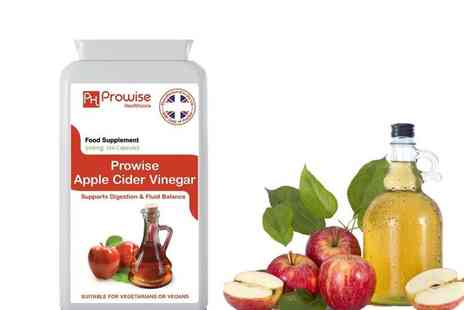 Prowise Healthcare - Four month or eight month supply of Apple Cider Vinegar Capsules - Save 70%