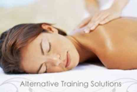 Alternative Training Solutions - Full Body Massage Training Course - Save 61%