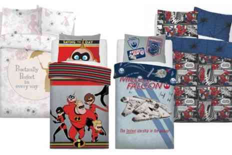 Groupon Goods Global GmbH - Disney Warner Bros Reversible Duvet Set - Save 0%