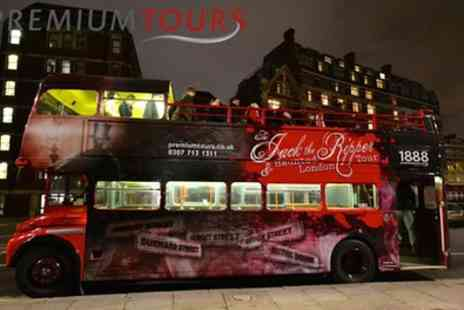 Premium Tours - Jack the Ripper, Haunted London and Sherlock Holmes Bus Tour - Save 50%