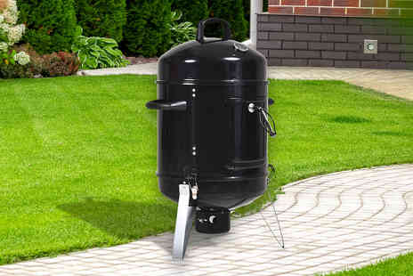 MH Star - Charcoal barbecue and smoker - Save 51%