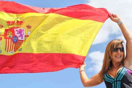 New Skills Academy - Spanish Level 1 and 2 Online Course - Save 84%
