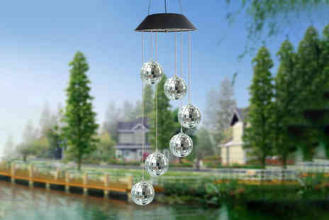 Litnfleek - Pack of six LED wind chime lamps - Save 0%