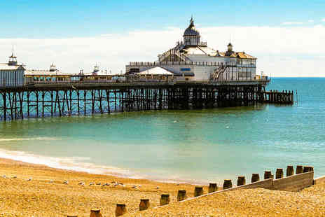 Shore View Hotel - Overnight Eastbourne getaway with breakfast, early check in and late check out - Save 52%