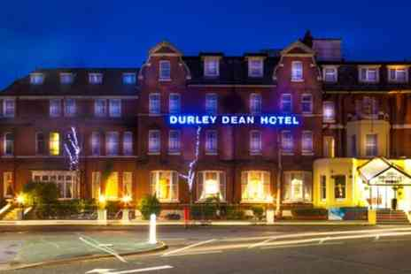 Durley Dean Hotel - Spa Day with Two Course Lunch and Glass of Prosecco for One or Two - Save 37%