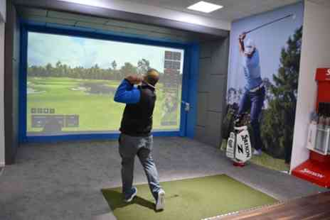 The North London Golf Academy - PGA Golf Lesson and Video Analysis with 30 Minutes of Practice Time - Save 73%