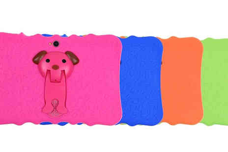 Domosecret - iPuppy Tablet With Bumper Case Choose from 4 Colours - Save 82%