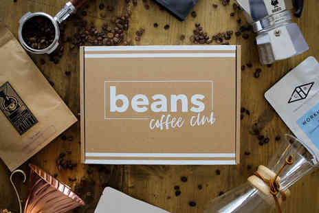 Beans Coffee Club - Personalised bag of coffee - Save 60%