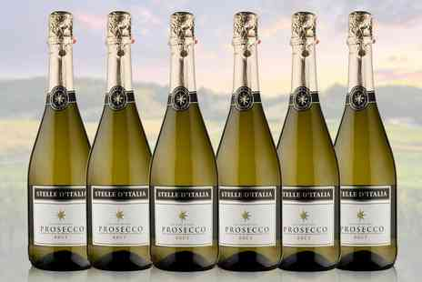 Great Western Wine - Six bottles of NV Stelle d Italia prosecco - Save 0%