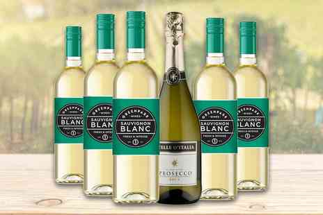 Great Western Wine - Mixed case of six wine and prosecco bottles - Save 38%