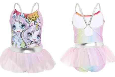 Groupon Goods Global GmbH - Poopsie Unicorn Swimming Costume for Girls - Save 0%