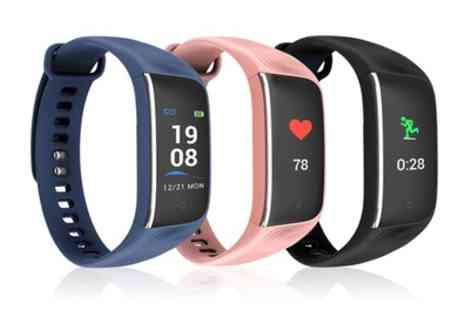 Groupon Goods Global GmbH - Fuel Heart Rate Tracker with Colour Screen - Save 81%