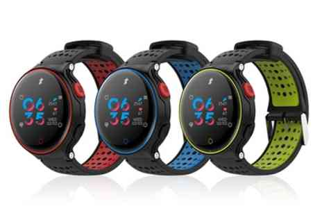 Groupon Goods Global GmbH - Activ8 Activity Tracker with Heart Rate Sensor - Save 77%