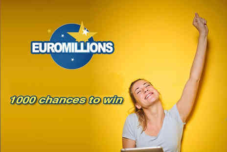 CheekyLottos - 1,000 EuroMillions syndicate lines - Save 82%